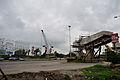 Parama-Park Circus Flyover Under Construction - Parama Island - Kolkata 2012-07-31 0522.JPG