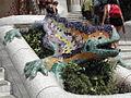 Parc Güell - Salamander Statue.JPG