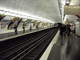 Paris metro - Marcel Sembat - 3