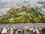 Park in Dublin St Stephen's Green aerial (22112994396).jpg