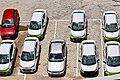 Parking lot in Ayyappa society.jpg