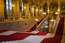 houses of parliament interior. Main Hall Of Parliament Building Hungarian Parliament Building  Wikipedia