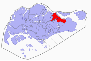 Pasir Ris-Punggol Group Representation Constituency - Image: Pasir Ris Punggol Group Representation Constituency locator map