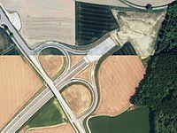 Pastetten BAB 94 Autobahnende Aerial.jpg