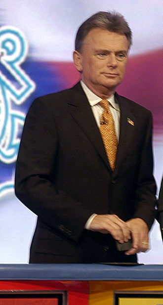 Pat Sajak - Sajak on the Wheel of Fortune set in 2006