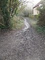Path from Sissinghurst Road to Wicor Recreation Ground - geograph.org.uk - 1700456.jpg