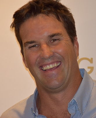 Pat Rafter - Pat Rafter at a 2015 Australian Open Player's party, January 2015