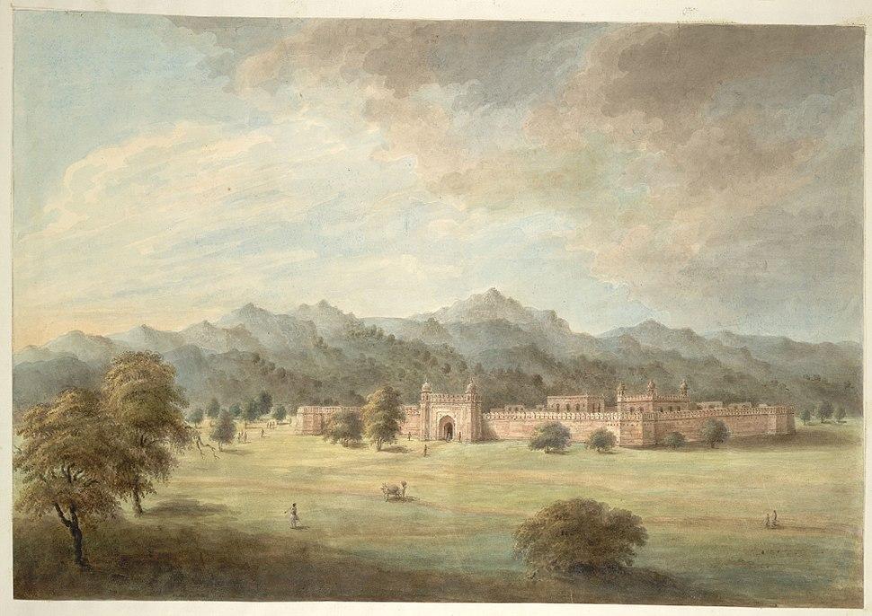 Patthargarh fort outside Najibabad, 1814-15