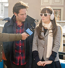 Paul Rudd, Zooey Deschanel 2011.jpg