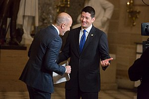Matt Lauer - Lauer with Paul Ryan in 2017