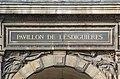 Pavillon Lesdiguières Inscription Louvre Paris 1.jpg