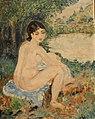 Peinture impressionniste sur bois.JPG