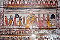 Peinture murale du Raja Mahal (Orchha) (8452175332).jpg