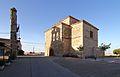 Pelabravo, Iglesia San Juan Bautista, y espadaña separada.jpg