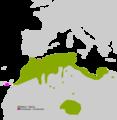 Pelophylax saharicus range Map.png