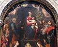 Perin del vaga e giovanni antonio sogliani, madonna in trono e santi, 02.JPG