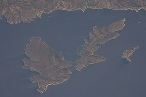 Peristera - Image: Peristera from space
