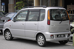 Perodua Kenari (first generation, basic) (rear), Serdang.jpg