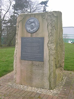 Creswell, Staffordshire - The Perrin Memorial