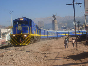Sinqa - Image: Perurail train Cusco Puno