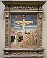 Pesellino, crocifissione coi santi girolamo e francesco, 1445-50 circa.JPG