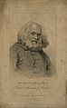 Peter, the wild boy, as an older man. Stipple engraving by R Wellcome V0007327.jpg