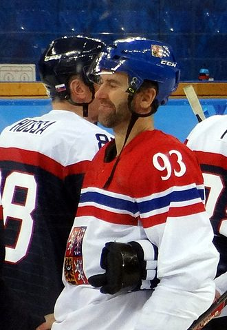 Petr Nedvěd - Image: Petr Nedvěd 2014 Winter Olympics