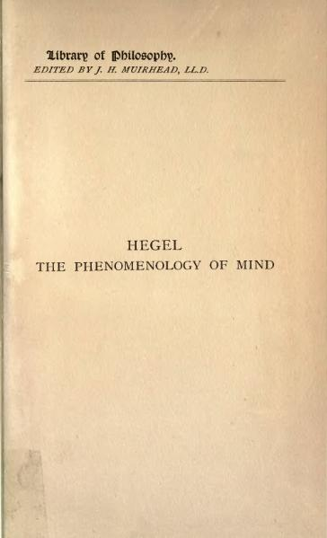 File:Phenomenology of Mind vol 2.djvu