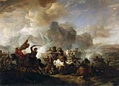 Philips Wouwerman - Skirmish of Horsemen between Orientals and Imperials - WGA25886.jpg