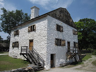 Philipsburg Manor House - The main house.