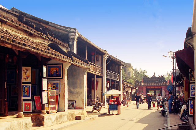 Hoi An's historic centre has remained largely unchanged for centuries.