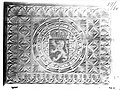 Photograph of a relief with the coat of arms of Belgium Cuypershuis 0686 (114).jpg