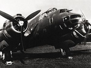 Piaggio P.108 - Like the Lancaster, the P.108's nose turret was positioned above the bombardier/bomb-aimer