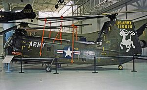 Piasecki HUP Retriever - H-25A Army Mule preserved in the US Army Aviation Museum, Alabama