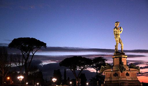 Piazzale Michelangelo al tramonto