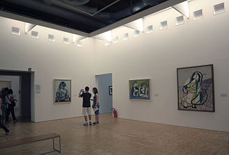 Centre Georges Pompidou - Pablo Picasso's works in the Centre