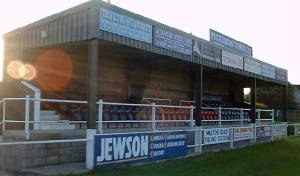 Pickering Town F.C. - Main Stand