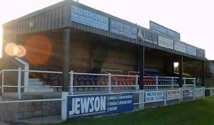 Pickering Town F.C. - Main Stand
