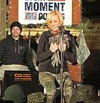 Pickler performs Christmas at Kandahar 131225-F-AA111-084.jpg
