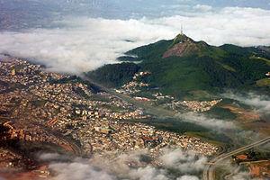 São Paulo: Pico do jaragua aerial 2010
