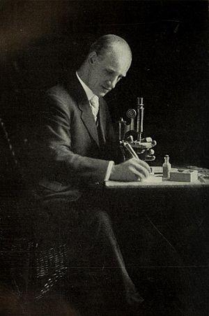 Richard Clarke Cabot - Cabot at work.