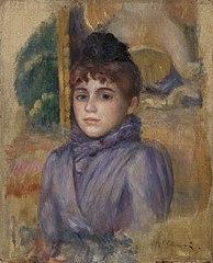 Portrait of a Young Woman (Portrait de jeune femme)