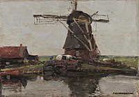Piet Mondriaan - Stammer mill with summer house - 2691 - National Gallery of Athens.jpg