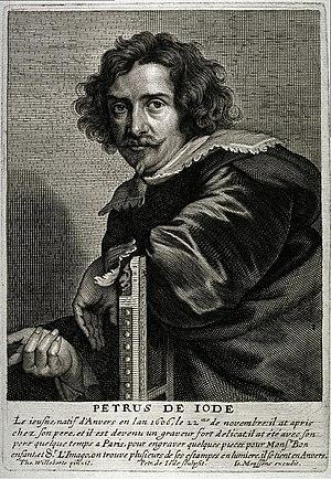 Pieter de Jode II - Pieter de Jode II after Thomas Willeboirts Bosschaert