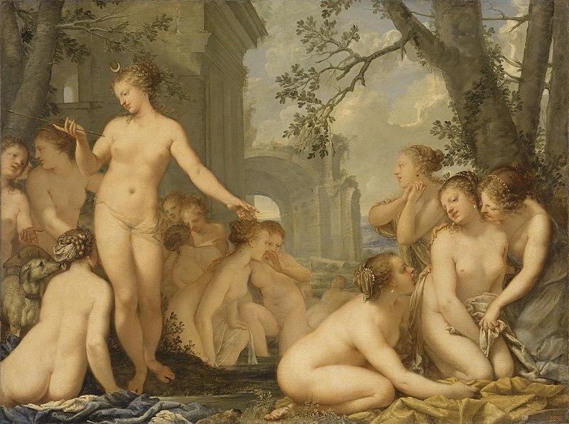 File:Pietro Liberi - Diana and Callisto, 1670.jpg