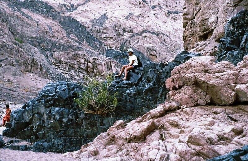 גן-שמואל-טיול הקבוץ לסיני 1981