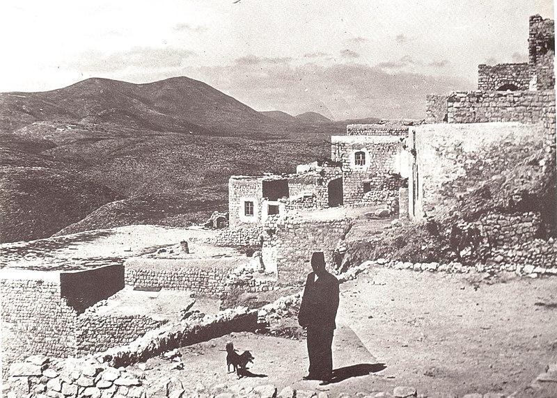 צפת והר ג'רמק (מירון) 1890