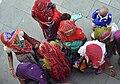 "Pilgrimers after ""mundan"", a religious ritual in Har ki Pauri WTK20150925-DSC 4548.jpg"