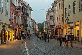 Pilies Street - Pilies Street in September 2014