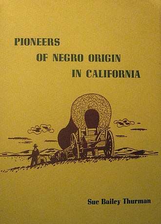 Charlotte L. Brown - Cover of Pioneers of Negro Origin in California,  by Sue Bailey Thurman